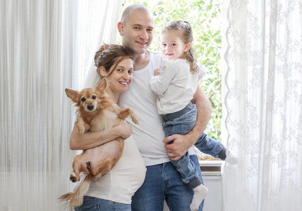 29 שבועות הריון, משפחה אחת והמון אהבה – צילומי הריון שלי ♡